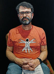 Christopher O'Connor, 'Portrait Of The Composer Daniel Sonenberg', 2020
