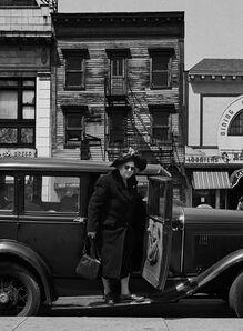 Harold Feinstein, 'Woman Stepping from Car', 1946