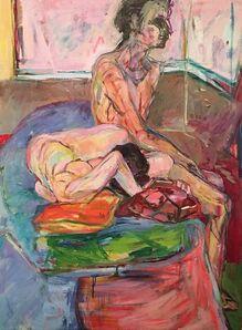 Diana Kurz, 'Two Figures', 1964