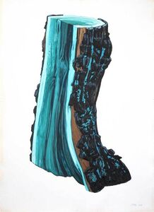 Ray Cicin, 'Charred, Blue Stain Fungus'