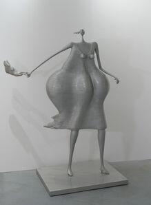 Abigail Varela, 'Mujer apurada con cartera', 2011