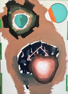 Luis Gordillo, 'Corazón de ángel', 2017
