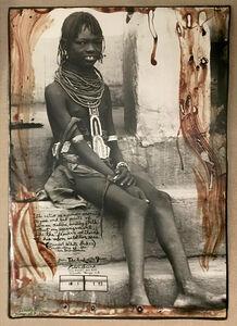 Peter Beard, 'Untitled (Turkana Girl), Lodwar, Kenya'