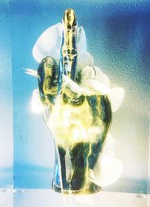 Alexandre Nicolas, 'F..ck Finger Bronze', ca. 2019