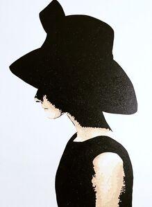 María Laura, 'Black Hat (Audrey Hepburn)', 2019