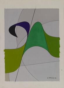 Luigi Veronesi, 'Sviluppo E', 1972