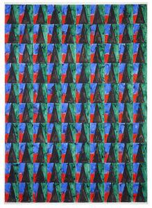 Marijn Van Kreij, 'Untitled (Paul Klee, Hungriges Mädchen, 1939, #2)', 2014