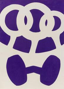George Sugarman, 'Purple and White', 1965
