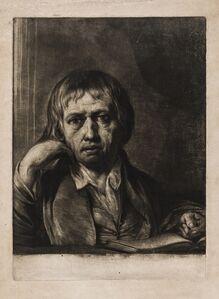 James Barry, 'Self-portrait of the artist', circa 1756-1810