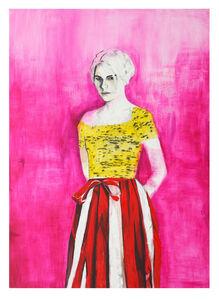 Raffi Kalenderian, 'Portrait of the Poet Dasha Nekrasova', 2016
