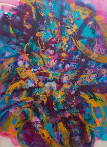 "Rebecca Meanley, '""Distemper Composition III""', 2019"