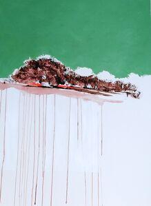 María José Concha, 'Exuding Turquoise Landscape II', 2014