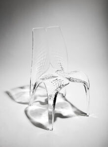Zaha Hadid, 'Chair 'Liquid Glacial'', 2015