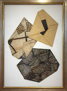Jean-Pierre Bourquin, 'Untitled Folded Paper', 2018