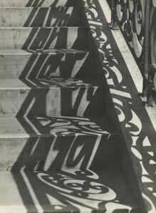 Iwao Yamawaki, 'Stairs and Shadow', 1932