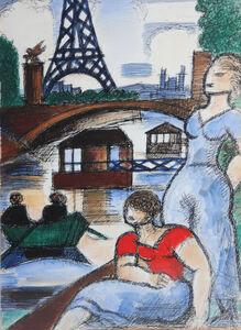 Marcel Gromaire, 'Eiffel Tower', 1931