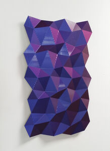 Christian Eckart, 'Hexagonal Perturbation - Blue/Red', 2011