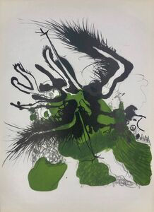 Paul Rebeyrolle, 'Lithograph', 1969