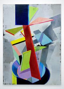 Genti Korini, 'Simulation on the axes 3', 2020