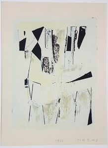 """Marino Marini, 'Quadrille - From """"A Suite of Sixty-three Re-creations of Drawings and Sketches in Many Mediums"""" ', 1968"""