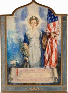 Howard Chandler Christy, 'In Grateful Memory of the Brave Men Who Have Given Lives for Their Country', 20th Century
