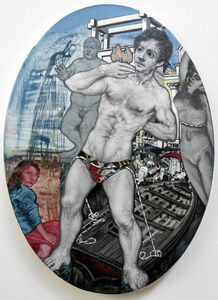 Emmanouil Bitsakis, 'The Demolition of the Colossus of Rhodes', 2020