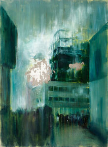 Iosu Aramburu, 'Incendio en el edificio de seguros, La Colmena II', 2014