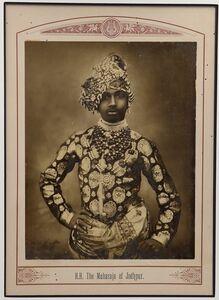 Raja Deen Dayal, 'The Maharaja of Jodhpur', ca. 1870