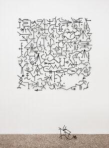 Edgar Orlaineta, 'Blind Alphabet', 2014