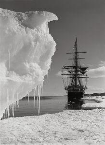 Herbert George Ponting, 'The Terra Nova and a berg at ice-foot,', 16