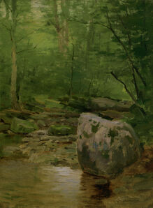 Charles Warren Eaton, 'Forest Brook', ca. 1885