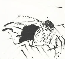David Hockney, 'Big Celia Print #2', 1981