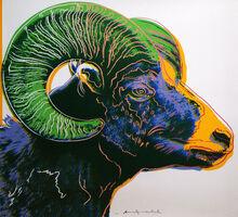 Andy Warhol, 'Bighorn Ram (FS II.302) ', 1983