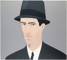 Alex Katz, 'Alex Katz Passing Self Portrait (Alex and Ada, the 1960's to the 1980's Suite)', 1990