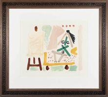 Pablo Picasso, 'Le Modele dans l'atelier', 1965; 1979-82