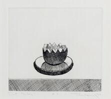 Wayne Thiebaud, 'Cut Melon', 1964