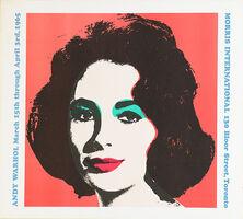 Andy Warhol, 'Liz Taylor (Morris International)', 1965