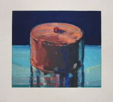 Wayne Thiebaud, 'Dark Cake', 1983