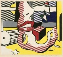Roy Lichtenstein, 'A Bright Night from the Surrealist Series', 1978