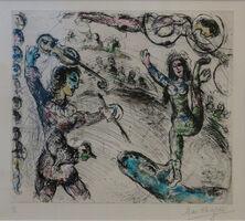 Marc Chagall, 'Acrobate et Violiniste', 1968