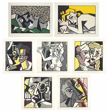 Expressionist Woodcut Series