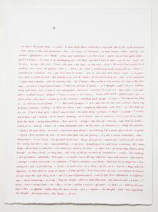 Simon Lewty, 'Text With Moth', 2009