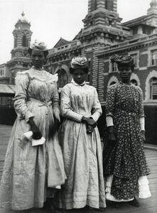 Augustus F. Sherman, 'Guadeloupe Women'