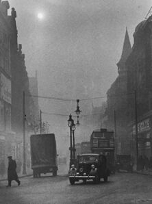 Wolfgang Suschitzky, 'London, Pea Souper', 1936