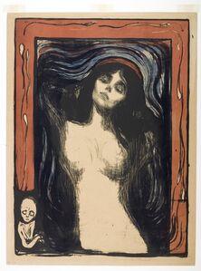 Edvard Munch, 'Madonna ', 1895/1902