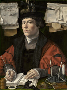 Jan Gossaert, 'Portrait of a Merchant', ca. 1530