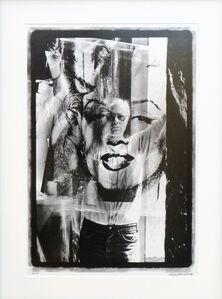 William John Kennedy, 'Warhol Holding Marilyn Acetate II', Executed: 1964-Printed: 2010