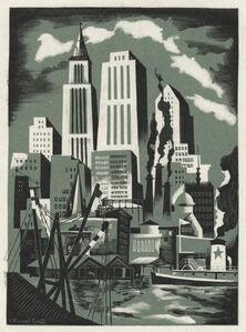 Bernard Brussel-Smith, '[Pier 5, East River, New York City]', ca. 1945