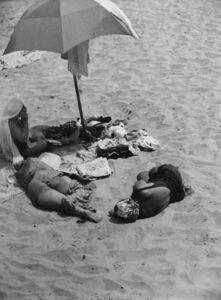 John Albok, 'Bathing Beauties', 1943