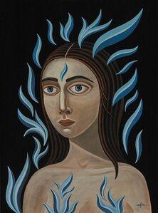 Anne Faith Nicholls, 'Cool, Like Blue Flames', 2017